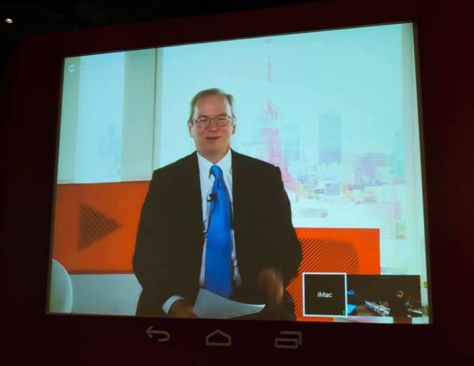 google schmidt mobile first 11042014 665x513 亞洲正在領導行動趨勢,Eric Schidt 認為下一步是 Mobile Only