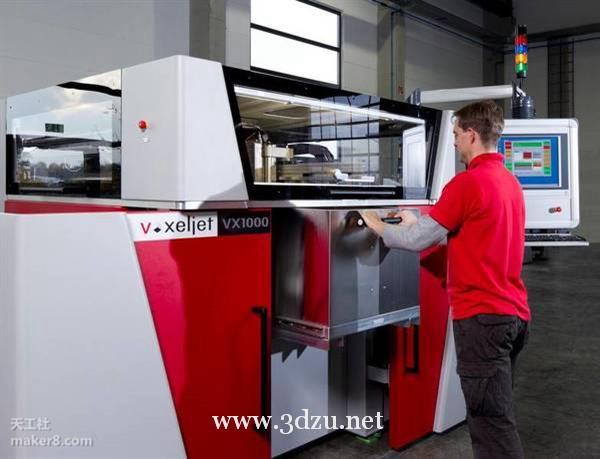 工業級3D打印機廠商voxeljet成立印度分公司