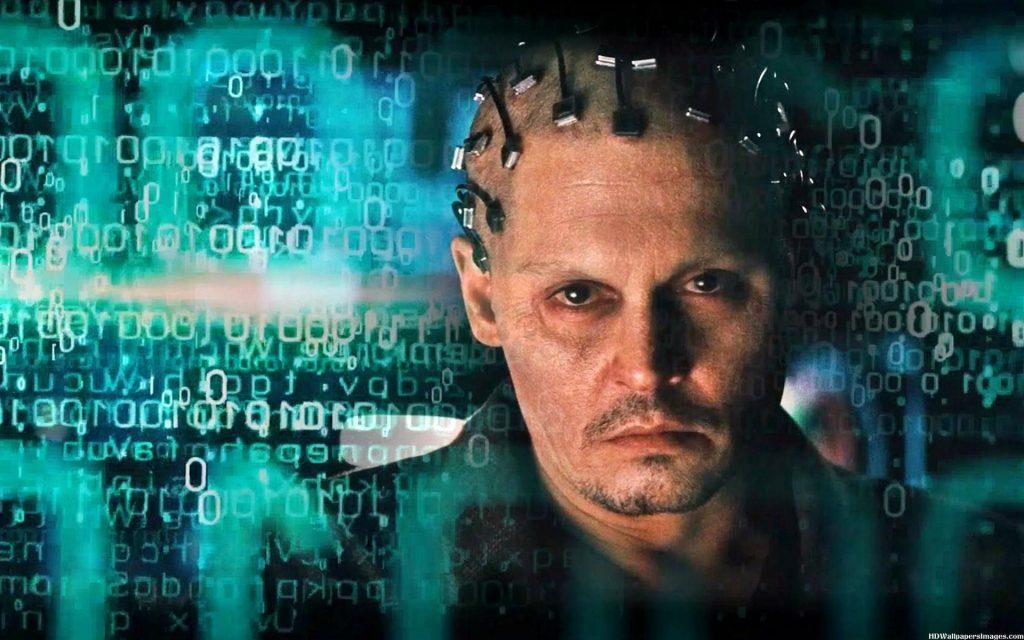 ▲科幻電影《全面進化》裡男主角意識上傳到人工智能裏面。(圖/翻攝自YouTube)