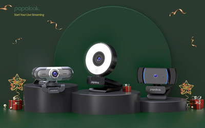 Holiday Gift Guide: Give the Gift of Connection this Festive Season with PAPALOOK』s Innovative High-quality Webcams