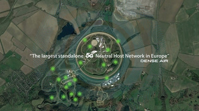 Dense Air 與 Millbrook 在 5G AutoAir 網絡進行可持續發展合作
