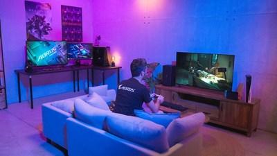 技嘉4K電競螢幕引領潮流  全系列標配HDMI 2.1和高更新率面板